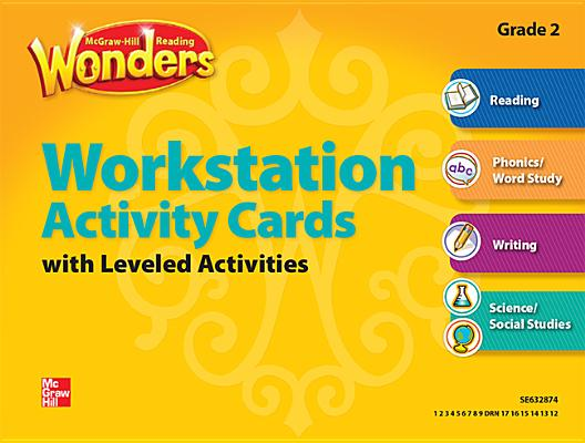 Image for Reading Wonders, Grade 2, Workstation Activity Cards Package Grade 2 (ELEMENTARY CORE READING)