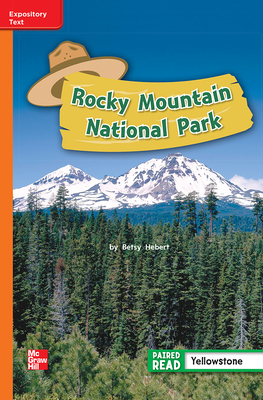Image for Reading Wonders Leveled Reader Rocky Mountain National Park: Approaching Unit 4 Week 1 Grade 2 (ELEMENTARY CORE READING)