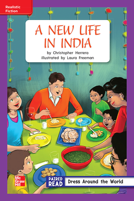Image for Reading Wonders Leveled Reader A New Life in India: ELL Unit 4 Week 3 Grade 2 (ELEMENTARY CORE READING)