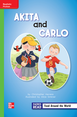 Image for Reading Wonders Leveled Reader Akita and Carlo: Beyond Unit 4 Week 3 Grade 2 (ELEMENTARY CORE READING)