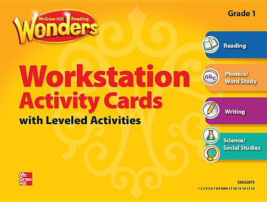Image for Reading Wonders, Grade 1, Workstation Activity Cards Package (ELEMENTARY CORE READING)