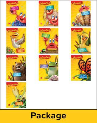 Image for Reading Wonderworks Decodable Reader Package 6PK Grade K (READING INTERVENTION)