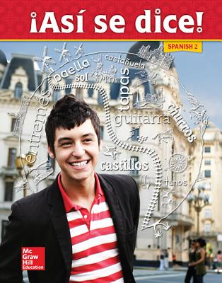Image for Asi se dice! Level 2, Student Edition (SPANISH)