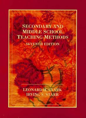 Image for SECONDARY AND MIDDLE SCHOOL TEACHING METHODS SEVENTH EDITION