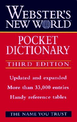 Image for Webster's New World Pocket Dictionary