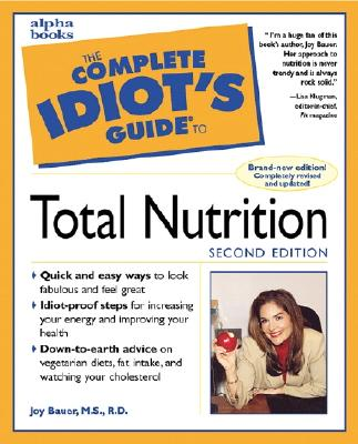 Image for The Complete Idiot's Guide to Total Nutrition