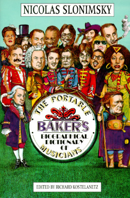 Image for The Portable Baker's Biographical Dictionary of Musicians