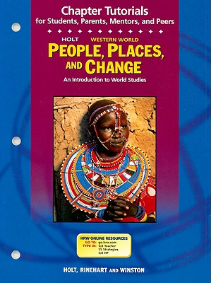 Image for People, Places, and Change, Chapter Tutorials Grades 6-8 Western Hemisphere: Holt People, Places, and Change: an Introduction to World Studies (People Plc&Chg West 2003)