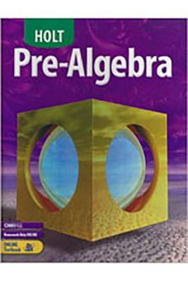 Image for Holt Pre-Algebra: Student Edition 2004