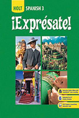 Image for !Expresate! (Holt Spanish 3): Cuaderno De Actividades (Activity Book)