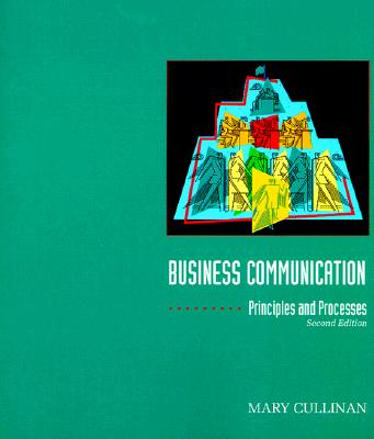 Image for Business Communications Principles and Processes