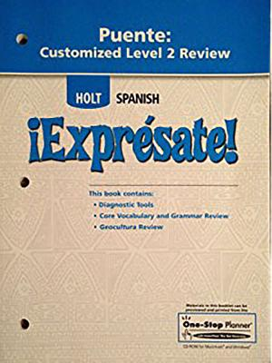 Image for Holt Spansh Expresate! (PUENTE:CUSTOMIZED LEVEL 1 REVIEW)