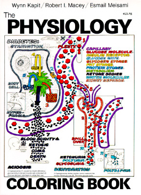 The Physiology Coloring Book, Esmail Meisami; Wynn Kapit; Robert I. Macey