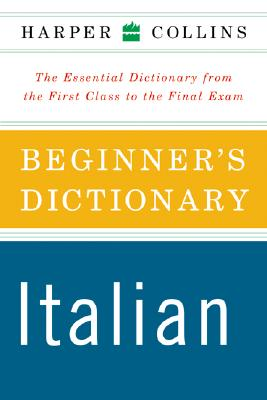 Image for HarperCollins Beginner's Italian Dictionary