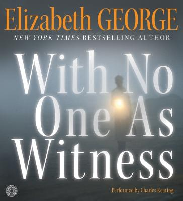 Image for With No One As Witness CD (Thomas Lynley and Barbara Havers Novels)