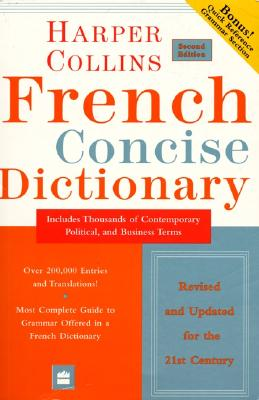 Image for Collins French Concise Dictionary, 2e (HarperCollins Concise Dictionaries) (English and French Edition)