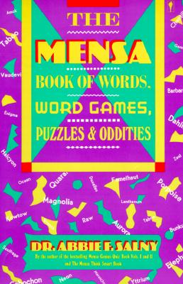 Image for The Mensa Book of Words, Word Games, Puzzles, & Oddities
