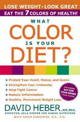 What Color Is Your Diet?, David Heber