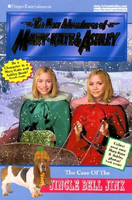 Image for The Case Of The Jingle Bell Jinx (The New Adventures Of Mary-Kate and Ashley Olsen)