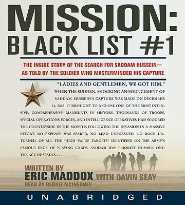 Image for MISSION : BLACK LIST 1 : THE UNTOLD STOR