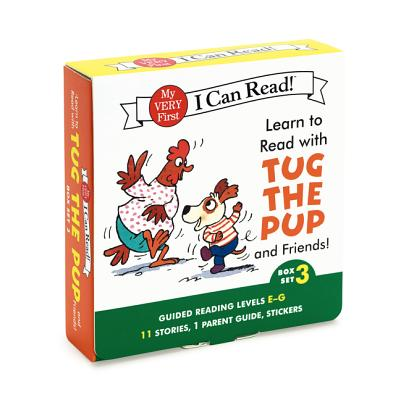 Image for Learn to Read with Tug the Pup and Friends! Box Set 3: Levels Included: E-G (My Very First I Can Read)
