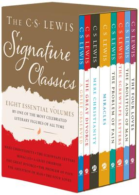 Image for The C. S. Lewis Signature Classics (Box Set): An Anthology of 8 C. S. Lewis Titles: Mere Christianity, The Screwtape Letters, The Great Divorce, The ... The Abolition of Man, and The Four Loves