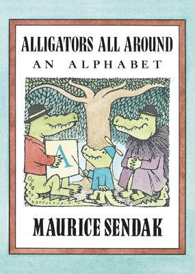 Image for Alligators All Around Board Book: An Alphabet