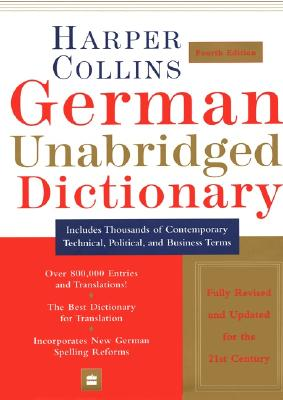 Image for German Unabridged Dictionary, 4th Edition