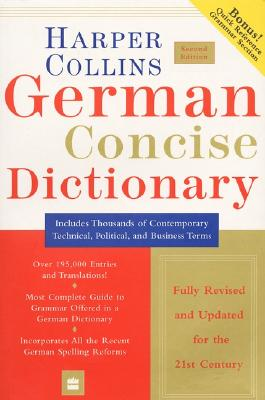 Image for Collins German Concise Dictionary, 2e (HarperCollins Concise Dictionaries) (English and German Edition)