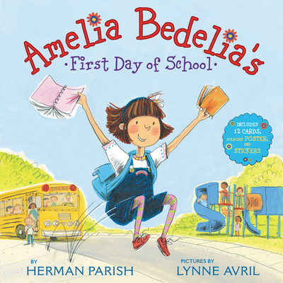 Image for AMELIA BEDELIA'S FIRST DAY OF SCHOOL HOLIDAY