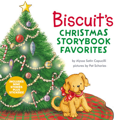 Image for BISCUITS CHRISTMAS STORYBOOK FAVORITES: INCLUDES 9 STORIES PLUS STICKERS!