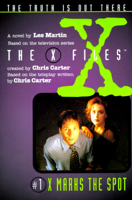 X Files #01 X Marks the Spot (X Files Middle Grade), Les Martin