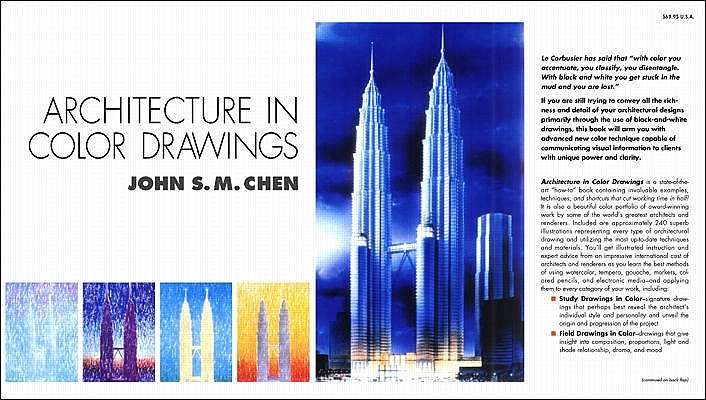 Image for Architecture in Color Drawings