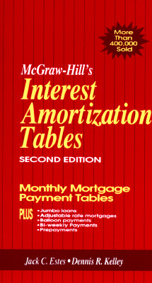 Image for MCGRAW-HILL'S INTEREST AMORTIZATION TABL