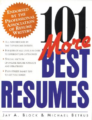 Image for 101 More Best Resumes