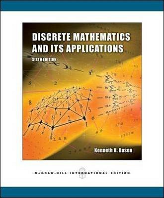 Discrete Mathematics and Its Applications International Version, Rosen, Kenneth H.