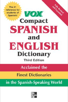 Image for Vox Compact Spanish and English Dictionary, 3rd Edition