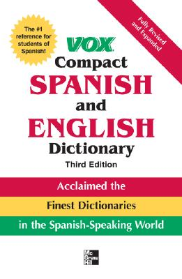 Image for Vox Compact Spanish and English Dictionar