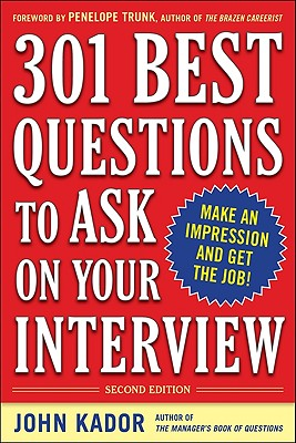 Image for 301 Best Questions to Ask on Your Interview, Second Edition