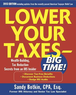 Image for Lower Your Taxes - Big Time 2011-2012 4/E