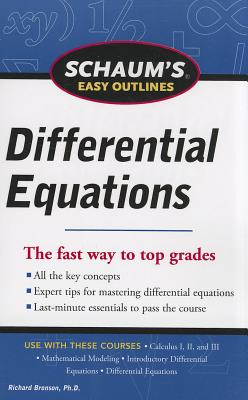 Image for Schaum's Easy Outline of Differential Equations, Revised Edition (Schaum's Easy Outlines)