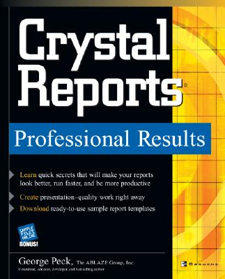 Image for Crystal Reports Professional Results