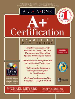 Image for A+ Certification All-in-One Exam Guide