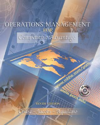 Image for Operations Management for Competitive Advantage (The Mcgraw-Hill/Irwin Series Operations and Decision Sciences)