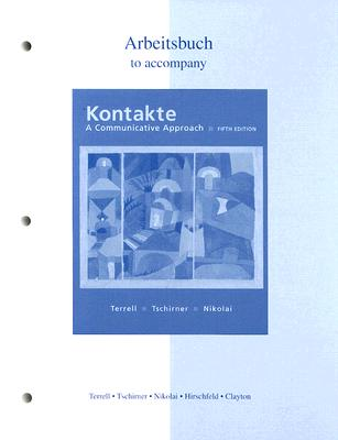 Image for Workbook/Laboratory Manual to accompany Kontakte: A Communicative Approach