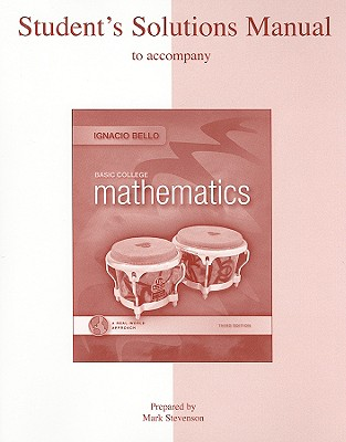Image for Student Solutions Manual for Basic College Mathematics: A Real-World Approach