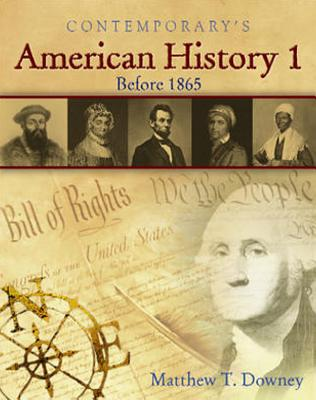 American History 1 (Before 1865), Softcover Student Text Only (American History II)