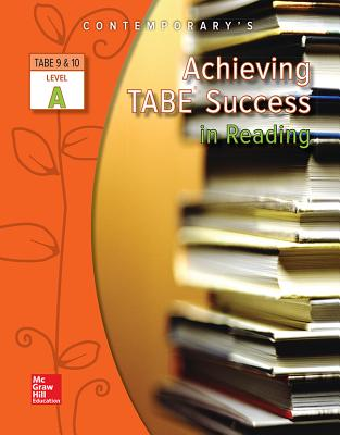 Image for Achieving TABE Success In Reading, Level A Workbook (Achieving TABE Success for TABE 9 & 10)