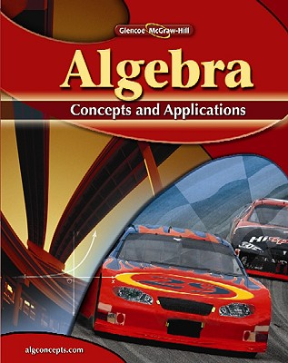 Image for Algebra: Concepts and Applications, Student Edition (ALGEBRA: CONC. & APPLIC.)