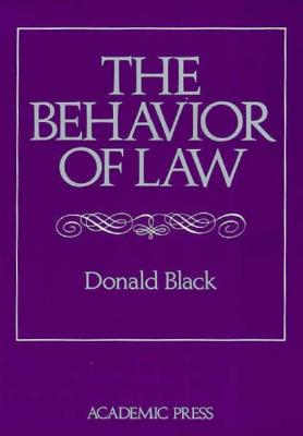 Image for Behavior of Law